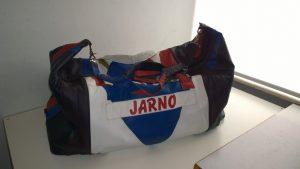 tas maken van oude leren jas
